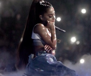 ariana grande, ariana, and moonlight image
