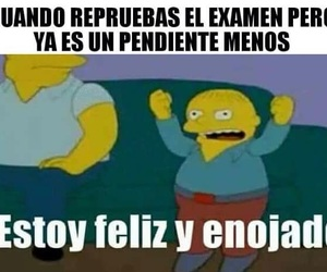 humor, examenes, and memes en español image