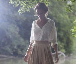 girl, style, and skirt image