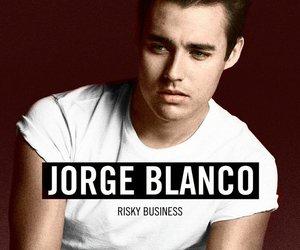 jorge blanco, boy, and handsome image