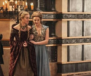 cersei lannister, game of thrones, and margaery tyrell image
