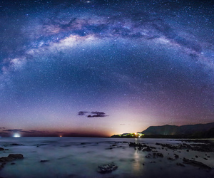 landscape and milky way image