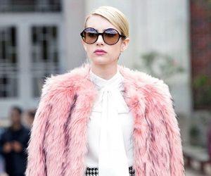 emma roberts, chanel, and pink image