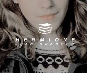 harry potter, hermione granger, and book image