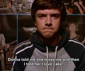 that 70s show, funny, and cake image