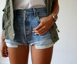 legs, shorts, and thin image
