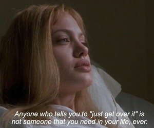 Angelina Jolie, quotes, and girl interrupted image