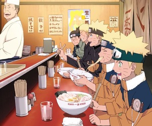 naruto, anime, and ramen image
