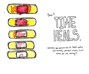 time, couple, and hurt image