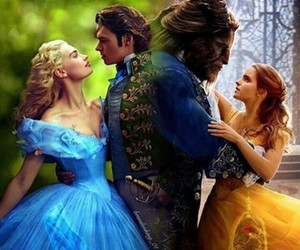 cinderella and beauty and the beast image