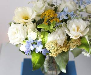 bouquet, flowers, and fresh image
