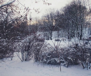 winter and warsaw image