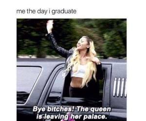 funny, Queen, and school image