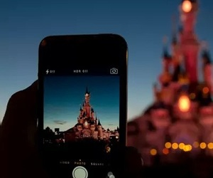 disney, disneyland, and iphone image