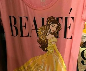 belle, disney, and pink image