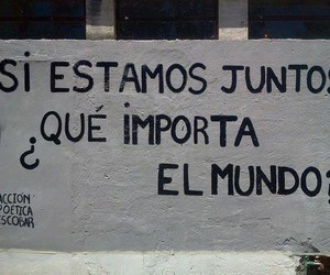 accion poetica, frases, and together image