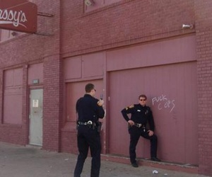 aesthetic, cops, and funny image