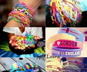 bracelet and colorful image