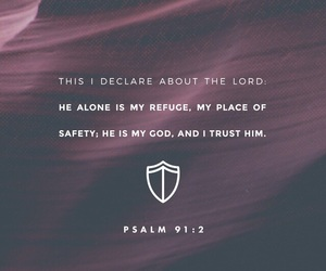 god, jesus, and trust image