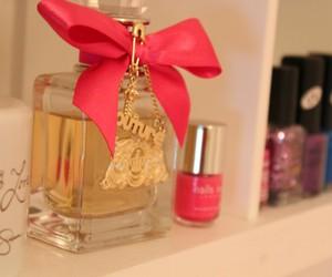 nailpolish, perfume, and pink image