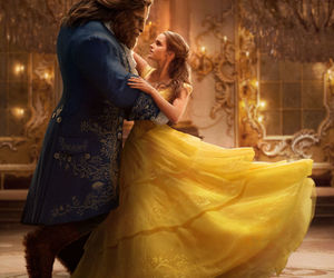 disney, emma watson, and beauty and the beast image
