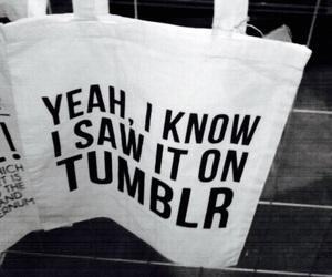 tumblr, bag, and grunge image