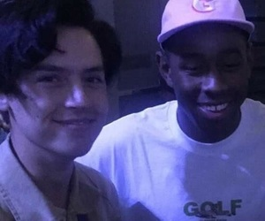 tyler the creator and cole sprouse image