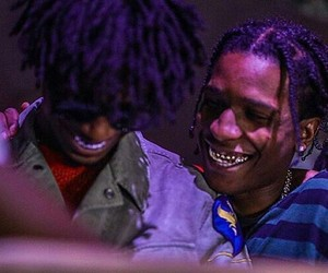 asap rocky and cash carti image