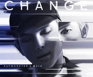 bts, rap monster, and change image
