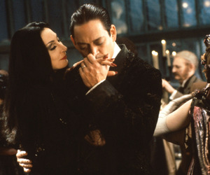 the addams family, morticia, and gomez image