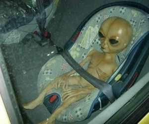 alien and baby image
