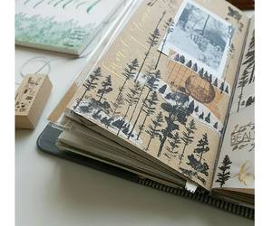 journal, art, and mixed media image