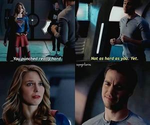 Supergirl, karamel, and mon el image