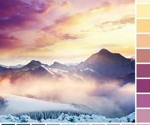 blue, colors, and landscape image