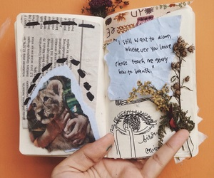 aesthetic, art journal, and journal art image