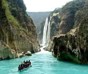 huasteca, travel, and water image