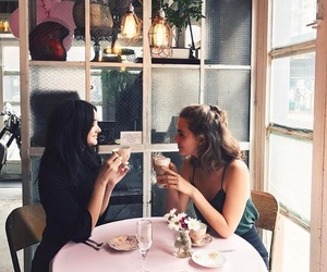 beautiful, best friends, and brunch image