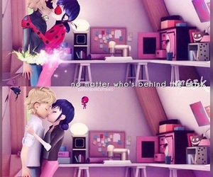 Chat Noir, ladybug, and Adrien image