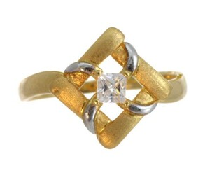 yellow gold rings online image