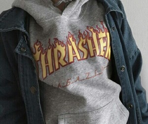 thrasher, fashion, and alternative image