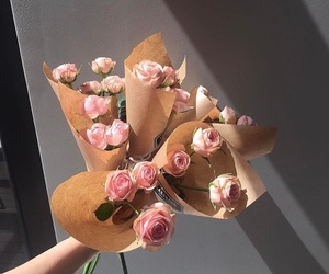 flower, pink, and aesthetic image