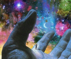 galaxy, psychedelic, and art image