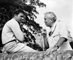 1964, richard burton, and john huston image