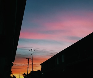 aesthetic, colors, and sunrise image