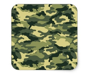 army, camouflage, and hunting image
