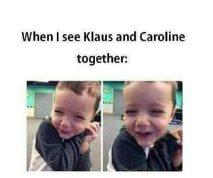 klaroline, compliments, and funny image
