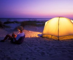 caravan awnings, caravan annexes, and camping at the coasts image
