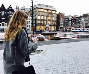 amsterdam, blond, and city image