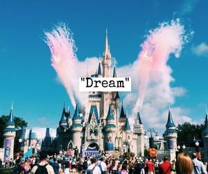 disney, Dream, and disneyland image