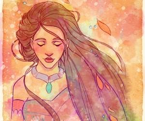 disney, pocahontas, and disney princess image